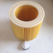 1pc New Replacements For Karcher Wet & Dry Vacuum Hoover Cleaners Cartridge Filter with Cap KAR64145520 Cleaner Parts