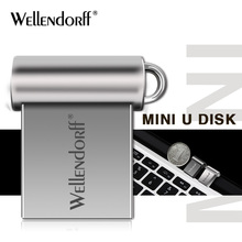 super mini 32GB pendrive metal style USB flash drive 4gb 8gb 16GB 64gb 128gb pen drive USB2.0 memory stick U Disk gift(China)