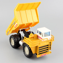 1:60 Scale kid's mini off-road CATERPILLAR Tramcar Mine Dump Truck mega machine collection model car Machinery toys for children