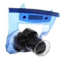 New 20M Waterproof DSLR SLR digital Camera outdoor Underwater Housing Case Pouch Dry Bag For Canon for Nikon Hot Selling(China)