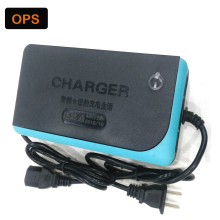 Free Shipping Lead Acid Battery Charger 48V 12AH For Electric Bike Bicyle Scooters DC100-240V Output 58V 3A Volt