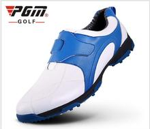 The New PGM Golf Shoes Laces Men's Waterproof sports Shoes Patent Shoes Anti-slip sneakers freeshipping(China)