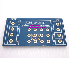 50*23mm for ALPS potentiometer 27,16,09 type potentiometer PCB board soldering board(China)