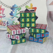 Figure Letter Magnetic Cube Magic Toys Puzzle Block Educational Toys For Kids