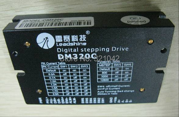 Leadshine DM320C 2 Phase Leadshine digital stepping drive 0.5-2A 18-30VDC Low Speed Nema14 15 17 Stepper Motor Drive<br>