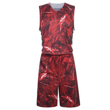 Kid 2017 good quality custom basketball jersey sets quick dry vest game youth trainning clothing breathable suit 1022(China)