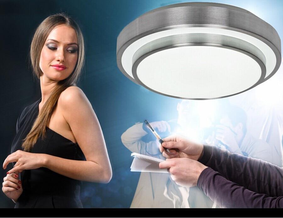 Double Aluminum Line LED Ceiling Light 24W Dia35CM SMD5730 LED Ceiling Light For Indoor LED light Ceiling Lamp led kitchen light<br><br>Aliexpress