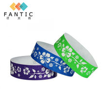 Good sale 200pcs no logo single use disposable wristband tag,one time  wristband custom paper event wristbands,wristband tag