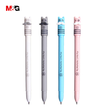 M&G wholesale 2 pcs kawaii erasable ballpoint gel pens for writing school stationery office supplies cute kid gift pen for girls(China)