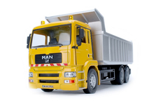 New 1:32 alloy car model, simulation dump trucks, high-grade ornaments, sound and light back to power For Baby Toys
