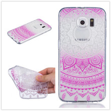 Ultra thin Transparent Hollow Retro Vintage Flower Soft TPU Mobile Phone font b Case b font