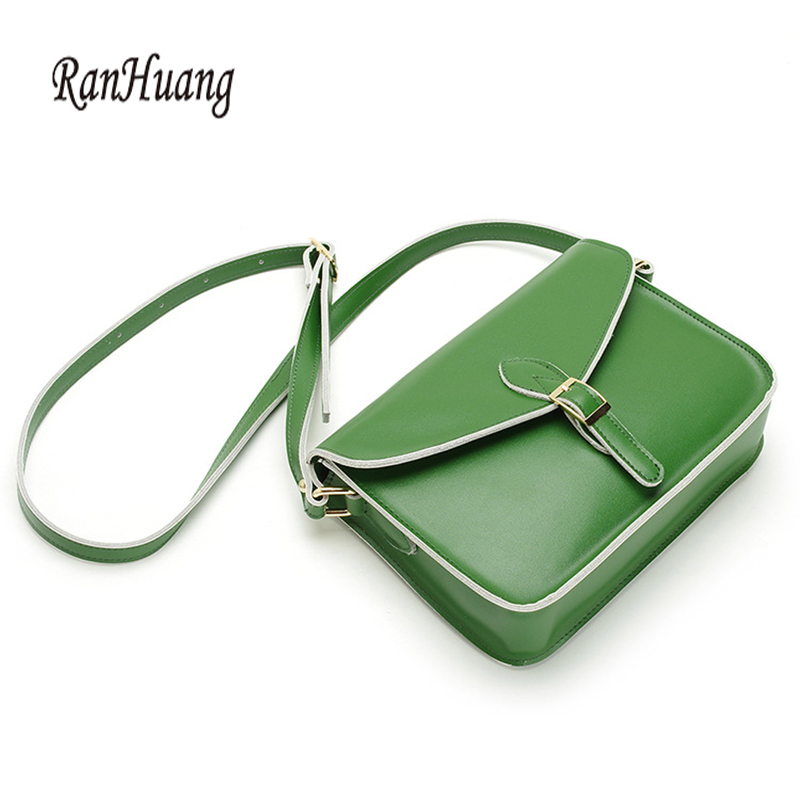 RanHuang New 2017 Women Small Handbags High Quality Genuine Leather Handbags Ladies Casual Shoulder Bags Vintage Crossbody Bags <br>