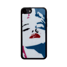 2017 Fashion cartoon graffiti perfume flames sexy lips pretty girl mirror tpu cell phones case For Iphone66s/6plus6splus/7/7plus(China)