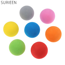 SURIEEN 20pcs 40mm EVA Golf Monochrome Balls 7 Colors Golf Balls for Indoor Outdoor Golf Practice Balls Foam Golf Training Balls(China)