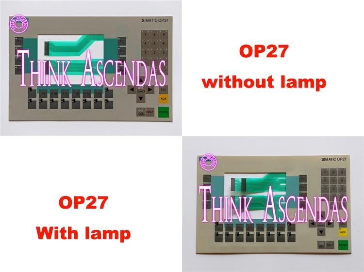 1pcs New OP27 6AV3627-1LK00-1AX0 6AV3 627-1LK00-1AX0 / OP27 6AV3627-1JK00-1AX0 6AV3 627-1JK00-1AX0 Membrane Keypad<br>