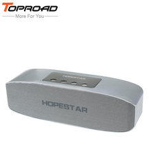 TOPROAD 16w Big Power Wireless Bluetooth Speaker 2400mah Power Bank Deep Bass Sound Subwoofer Stereo Speakers TF FM For Phone PC