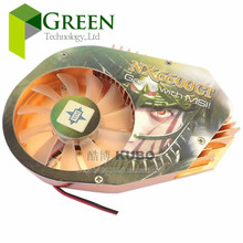 NEW 80mm Hole Pitch Cooling fan for MSI  NX6600GT-TD128  6600 AGP Graphics card with Heatsinks  fan 2pin