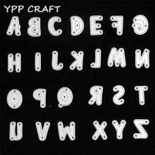 YPP CRAFT Alphabet Letter Set Metal Cutting Dies Stencils for DIY Scrapbooking/photo album Decorative Embossing DIY Paper Cards