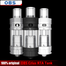Original OBS Crius RTA E Cigarettes Vaporizer Tank 4.2ml Top Side Fill Easy Rebuildable Atomizer for e cigarette