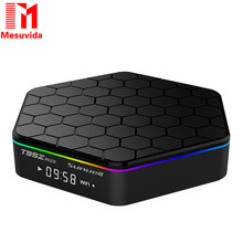 Mesuvida Sunvell T95Z Plus Android Smart Box Amlogic S912 Octa Core 4K x 2K H.265 Decoding 2.4G 5G Dual Band WiFi Media Player