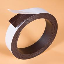 3M(30*1.2mm) Self adhesive Rubber Magnetic Flexible Magnet Stripe for IRobot Roomba Neato Xiaomi MI home Robotic Vacuum Cleaner(China)