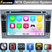 MTK3360 Car DVD Player For Opel Zafira 2005 2006 2007 2008 2009 2010 2011 Opel Meriva 800MHz CPU Dual Core Bluetooth Radio GPS