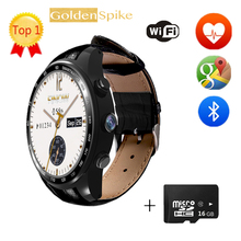 New Arrival Q7 Plus Smart Watch With 3MP Camera Support 32GB TF Card 3G Wifi Bluetooth 4.0 For Android PK H1 Kw88 Smartwatch