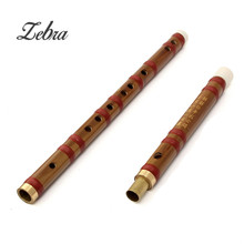 Hot High Quality Bamboo Flute Professional Woodwind Flute D Key ChineseTraditional Musical Instrument Handmade For Beginners(China)