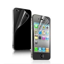 Free Shipping Power Support Anti-Glare Screen  Protector Film Set for APPLE iphone 4/ 4S