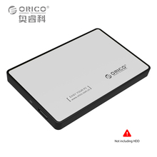 ORICO 2588US3 SATA to USB3.0 External 2.5 HDD SSD Enclosure Storage Harddisk Case Box Hard Disk Drive Adapter Tool Free Connect(China)