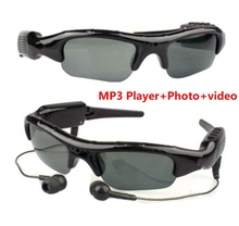 2017 NEW Support MP3 Player  Photo  video Sunglasses Camera Mini DV Camcorder For Outdoor Action Sport Video Mini Camera Glasses