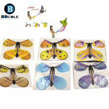 Free Shipping 100 Pcs/Lot BD Magic Butterfly Freedom Flying Butterfly Magic Tricks Magic Props Mentalism Magie Kids Children Toy