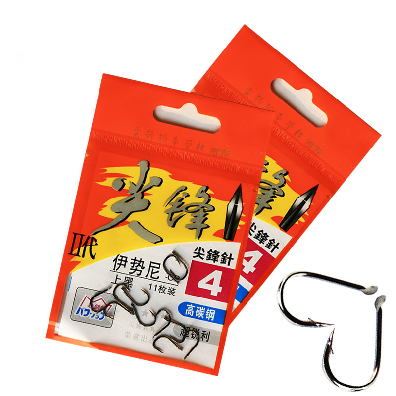 6pcs/lot Spikes second generation Iseon hook with barbed hooks high quality fishing hooks pole hooks(China (Mainland))