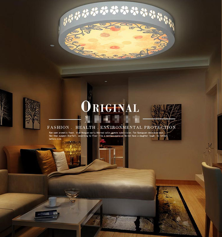 LED Round Ceiling Lights Minimalist LED Wooden Romantic LED Ceiling light 220V For Indoor LED light Ceiling Lamp<br><br>Aliexpress