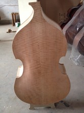 2014 YEAR NEW FINISHED 3/4 SIZE DOUBLE BASS ,FULL HAND MADE BASS(China)