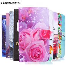 Buy Luxury Two Side Painting Wallet Phone Cover Meizu M5s M5c Rose Flower Tower Pattern Flip Leather Case Meizu M5 M6 Note for $2.88 in AliExpress store