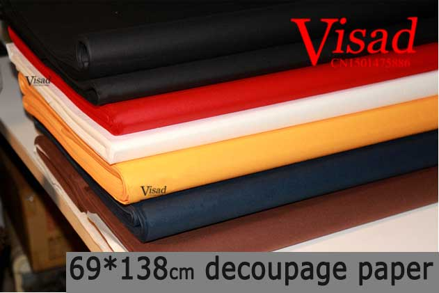 decoupage paper,VISAD painting xuan paper,69*138cm Chiese raw rice paper for drawing writing<br>