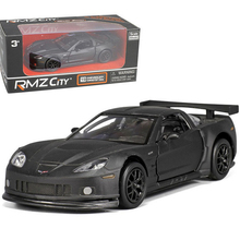 1/36 Scale Car Model For The Black Chevrolet Corvette Model Pull Back Children Toys Gifts Collections