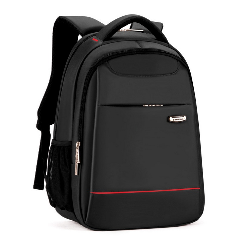 15 Inch Polyester Mens Back Pack Men Business Laptop Bag College Student Campus Backpack Mochila School Bags Compact Backpack<br>
