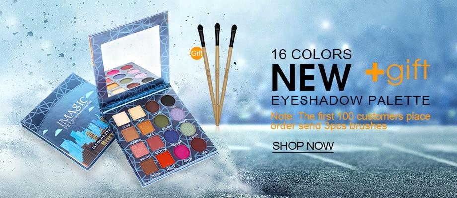 IMAGIC Nouvelle Arrivée Charme 16 Couleur Palette Make up Poudre 1