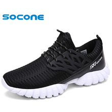 2016 SOCONE breathable running shoes,super light sneakers wearable men athletic shoes,brand sport shoes running men shoe