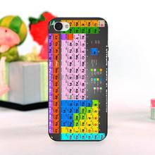 Chemical Chemistry College Periodic Tables Adorable Colored Drawing Hard Back Phone Accessories For iPhone 5 5S SE case