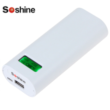 Soshine E4S 18650 Charger Battery Charger with LCD Capacity Display for Li-ion Lithium 18650 Rechargeable Battery(China)