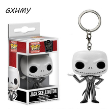 Funko Pop The Nightmare Before Christmas Jack Skellington Action Figure With Retail Box PVC Keychain Toys Christmas Gift