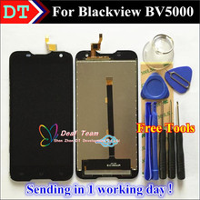 100% Best quality LCD Display + Touch Digitizer Screen Glass Assembly Replacement For Blackview BV5000