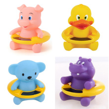 1 pc Fashion Cute Cartoon Crocodile Baby Infant Bath Tub Thermometer Water Temperature Tester Toy(China)