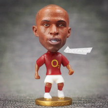 "Soccer Player Star 14# Henry (A-Classic) 2.5"" Action Dolls Figurine FreeShipping(China)"
