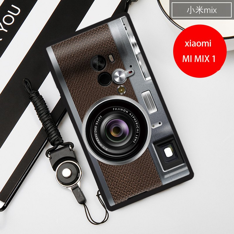 "Vintage Camera Magnetic tape painting phone Case xiaomi mi mix mimix 6.4"" cover  (Gift lanyard ) 1"