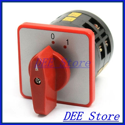 AC 380V 5A LW6-2/A026 2 Position Self-Locking Rotary Cam Changeover Switch<br><br>Aliexpress