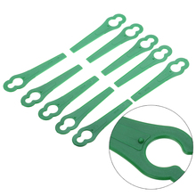 50Pcs String Trimmer Blades For Garden Lawn Mower Replacement Blade Garden Grass Cuttering Tools Mayitr